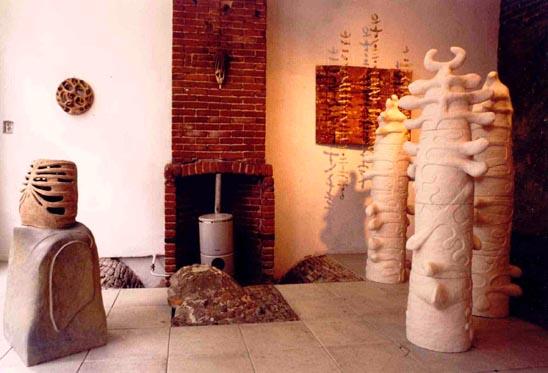 Solo expositie in Ferdinands galerie Kampen (1996)